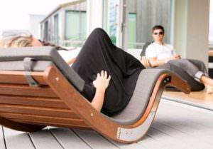 Kwila decking outdoor furniture