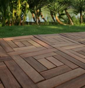 Kwila decking deck design